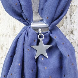 Star Scarf Ring
