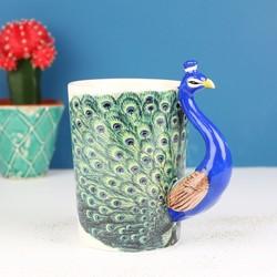Temerity Jones Peacock Mug