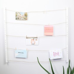 Personalised Umbra White 'Hangit' Photo Display
