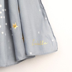 Personalised Starry Nights Scarf