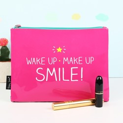 Happy Jackson 'Wake Up Make Up' Cosmetics Bag