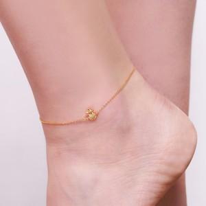 Gold Pineapple Anklet