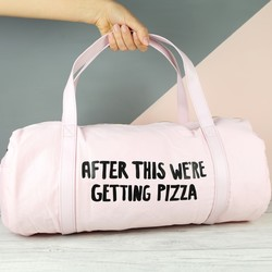 Ban.do 'After This We're Getting Pizza' Holdall Gym Bag