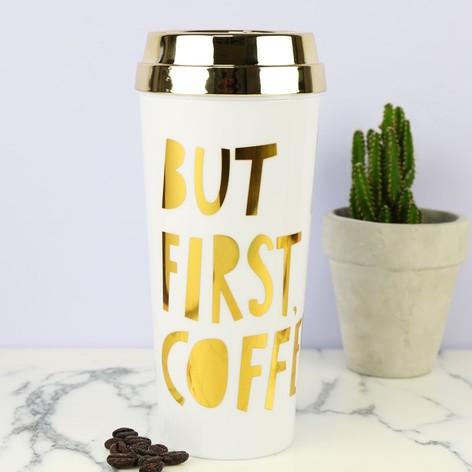 Ban.do 'But First, Coffee' Thermal Mug
