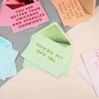 Ban.do Compliment Greeting Card Set