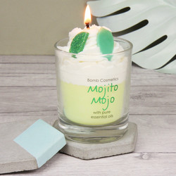 Bomb Cosmetics 'Mojito Mojo' Scented Piped Candle