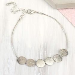 Silver Discs Bracelet