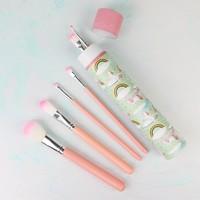 Cloud Nine Set of 6 Unicorn Make Up Brushes
