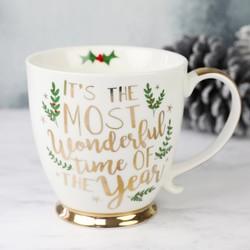 'Most Wonderful Time of the Year' Ceramic Mug
