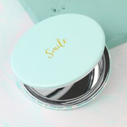 Round 'Smile' Compact Mirror