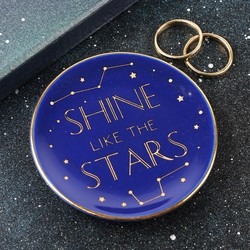 Shine Like the Stars Ring Dish