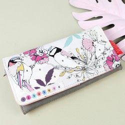 House of Disaster 'Colour Me' Bird Wallet