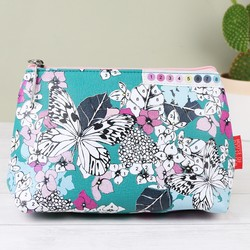 House of Disaster 'Colour Me' Butterfly Make Up Bag