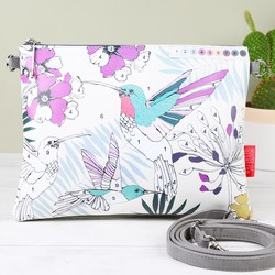 House of Disaster 'Colour Me' Hummingbird Clutch Bag