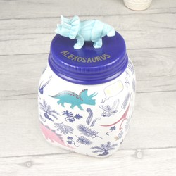 Personalised House of Disaster Dinomite Dinosaur Jar