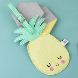 House of Disaster Hi-Kawaii Pineapple Luggage Tag