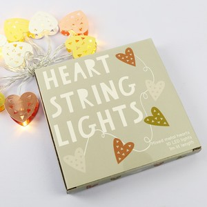 Heart String Lights - Mixed Metals