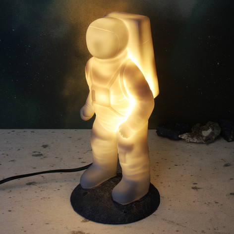 House of Disaster White Spaceman Night Light