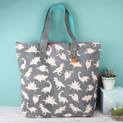 House of Disaster Origami Dinosaur Tote Bag