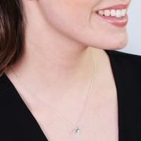 Estella Bartlett 'Treasure Me' Silver Unicorn Necklace
