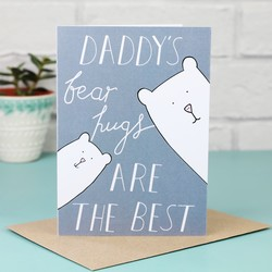 Daddy Bear Hugs Card