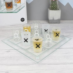 Three in a Row Drinking Board Game