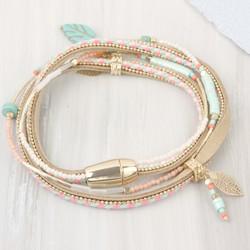 Beaded Festival Wrap Bracelet