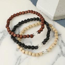 Personalised Handmade Men's Initial Bracelet