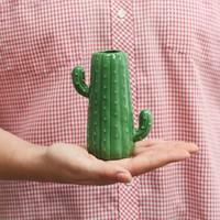 Small Ceramic Cactus Vase