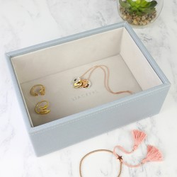 Stackers Mini Deep Jewellery Tray in Blue