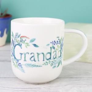 Floral Grandad Mug