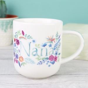 Floral Nana Mug