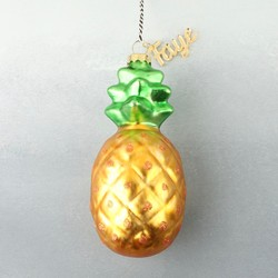 Personalised Name Sparkly Pineapple Decoration