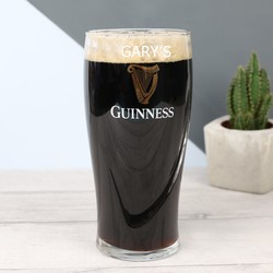Personalised Engraved 'Guinness' Pint Glass