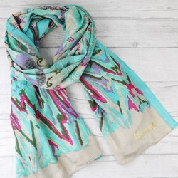Personalised Birds of Paradise Scarf