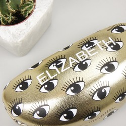 Personalised Sass & Belle 'Eyes on You' Glasses Case