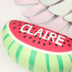 Personalised Sass & Belle Tropical Watermelon Glasses Case