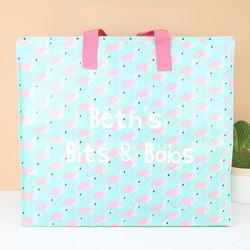 Personalised Sass & Belle Flamingo Storage Bag