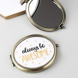 Sass & Belle 'Always Be Awesome' Compact Mirror