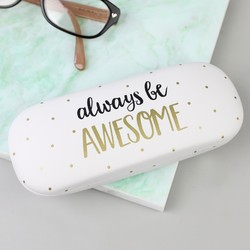 Sass & Belle 'Always Be Awesome' Glasses Case