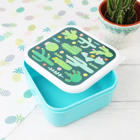 Sass & Belle Cactus Lunch Box