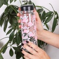 Sass & Belle Tropical Flamingo Water Bottle