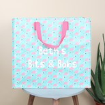 Personalised Sass & Belle Flamingo Storage Bag