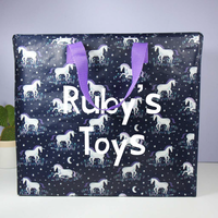 Personalised Sass & Belle Starlight Unicorn Storage Bag
