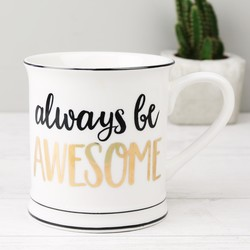 Sass & Belle 'Always Be Awesome' Mug