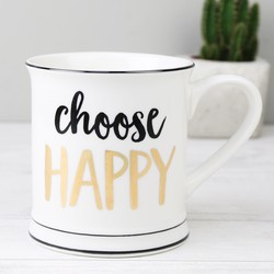 Sass & Belle 'Choose Happy' Mug