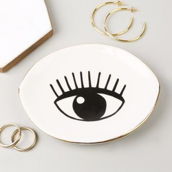 Sass & Belle 'Eyes on You' Ceramic Trinket Dish