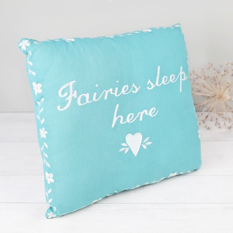 Sass & Belle 'Fairies Sleep Here' Cushion