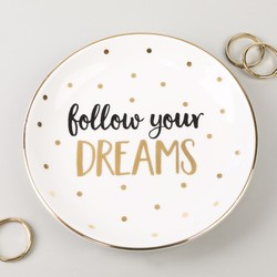 Sass & Belle 'Follow your Dreams' Ceramic Trinket Dish