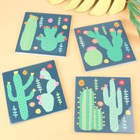 Sass & Belle Set of 4 Cactus Coasters